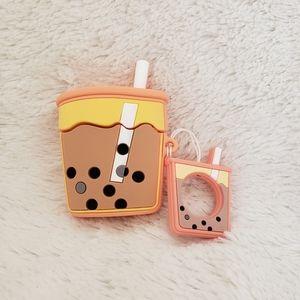 NIB Boba Tea Anime Silicone Airpod Protective Case